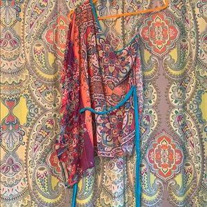 Tops - DejaVu one shouldered vintage shirt